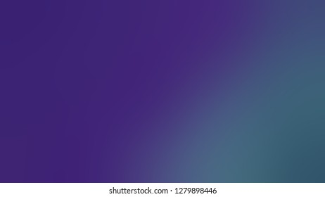 Gradient with Windsor, Violet, Matisse, Blue color. Simplicity and purity. Blurred background with defocused image. Template for app or application.