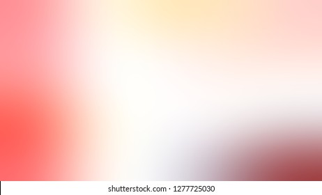 Gradient with Wisp Pink, Rose Bud color. Chaos of color and hue. Background with defocused image. Screen template for software.