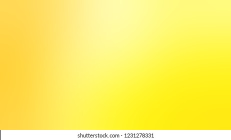 Gradient with Witch Haze, Yellow, Gorse color. Beautiful abstract blurred background with smooth color transition. Minimalism.