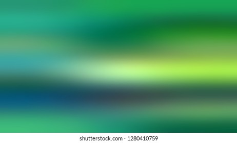 Gradient without focus and with Fruit Salad, Green, Eucalyptus color. Artistic and decorative blurred background with smooth change of colors and shades. Template for advertising and commercials.