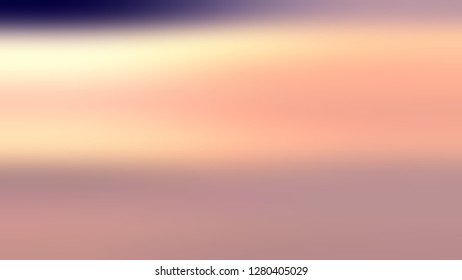 Gradient without focus and with Quicksand, Brown, Mandys Pink color. Beautiful raster blank background. Template for the header on the cover of magazine or book.