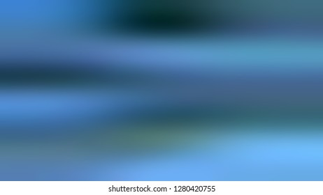 Gradient without focus and with Steel Blue, Matisse color. Gaussian drawing as a work of art. Background with smooth change of colors and shades. Sample with blank space for text and advertising.