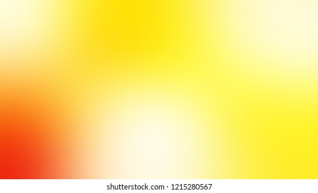 Gradient with Yellow, Gorse color. A simple defocused and blurred backdrop with the transition colors for advertising.