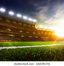 Grand day sport arena background
