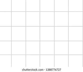 Graph paper, abstract grid line,gray straight lines on white background