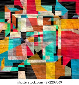 graphic a abstract background with geometric elements