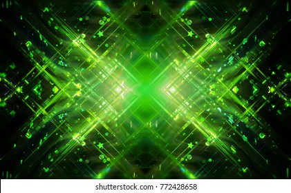 Graphic background green. Illustration for design.