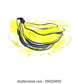 Banana Graphic Images Stock Photos Vectors Shutterstock