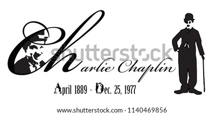 Graphic design of Chaplin