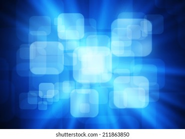 a graphic of fantasy round rectangle ,abstract background