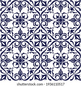 graphic with hand drawing pattern ornament seamless background, The mandala geometric decorative abstract ceramics or mosaic