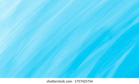 Graphic illustration of a blue paint strokes creating an ombre.