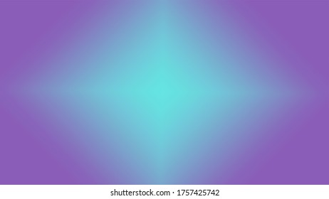 Graphic illustration of a light diamond beam. Colored Blue Teal and Purple