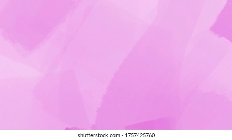 Graphic illustration of a light pink paint strokes background