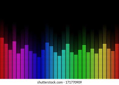 Graphic Rainbow Equalizer