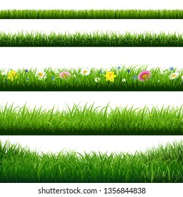 Grass Borders Set