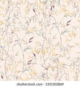 grass seamless pattern for fabrics, paper, wallpaper