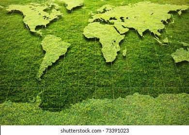 Grass World map