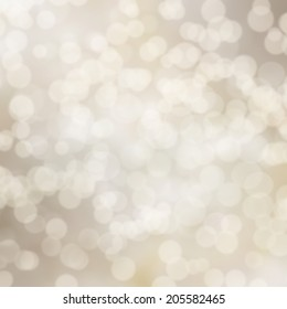 gray abstract background with bokeh lights