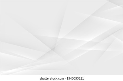 Gray abstract background for designers. Advertisement banner with abstract shapes.