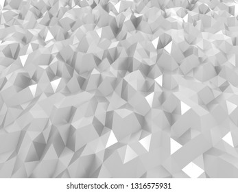 Gray abstruct polygon wallpaper background 4k