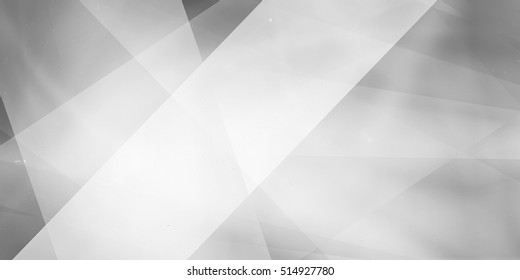 gray background with white layers stripes and angles, geometric business background design, white background lighting with large soft white angled stripe in foreground