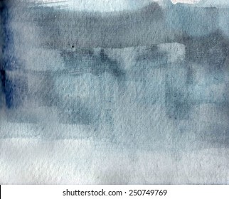 Gray blue watercolor  texture