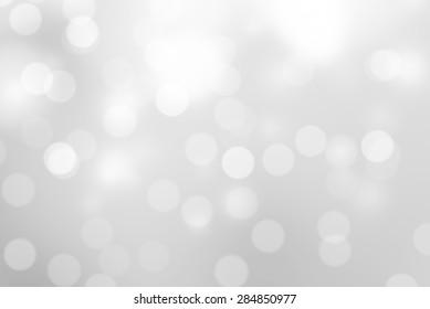 Gray Bokeh Background (Black and white Blurred Wallpaper)