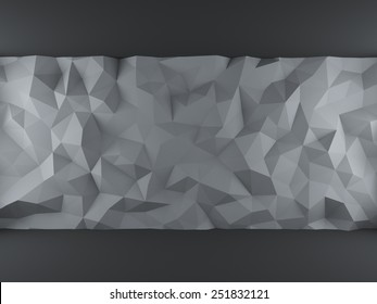 Gray crumpled background