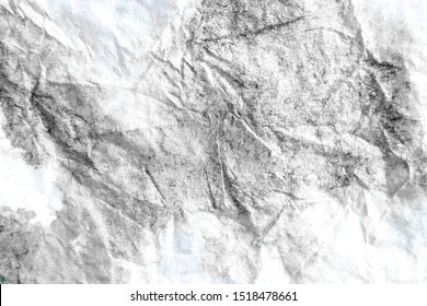 Gray Dirty Art Batik Drawn Texture. Charcoal Drawn Handmade Fabric Design Graffiti. Black Acrylic Drawing Dirty Art Batik. Handmade Jade Tie Dye Shibori Designs