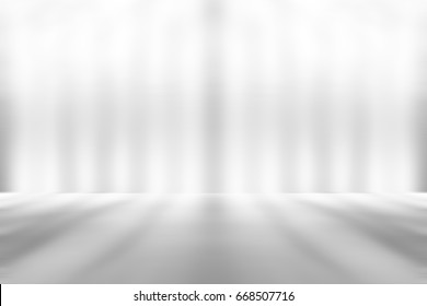 Gray empty room studio gradient used for background and display your product - Shutterstock ID 668507716