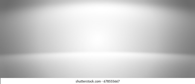 Gray empty room studio gradient used for background and display your product