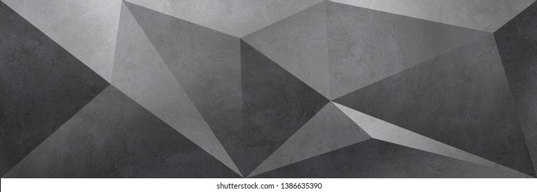 Gray Facet background.  Relief surface illustration
