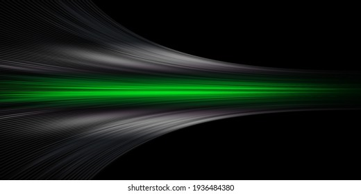 Gray and green speed abstract technology background