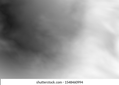 Gray grey white black flowing haze misty foggy smoke smoky creative artistic happy dreamy and fun blurry motion wavy multicolored splashed clouds sky paint canvas abstract gradation background