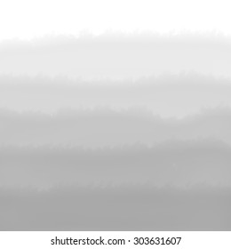 Gray Ombre Watercolor Background