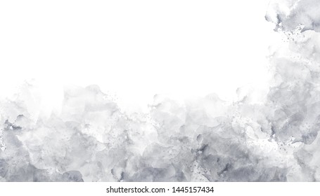 Gray painting watercolor background texture