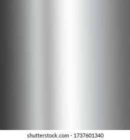 Gray smooth background. Elegant metallic luster.