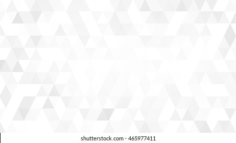 Gray White Polygon Mosaic for business and corporate background.