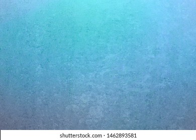 Gray-blue wall texture for designer background. Artistic plaster. Rough illuminated surface. Abstract picture. Light background. Raster image.