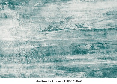 Gray-green paint stains on canvas. Abstract illustration with grey and green blots on soft background. Creative artistic backdrop. Abstract pattern of watercolor illustration. Soft gray color texture.