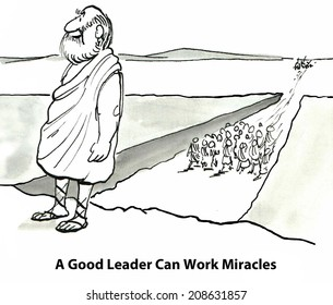 A Great Leader Can Work Miracles