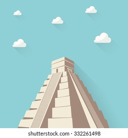 Great Pyramid of Giza or Pyramid of Khufu or Cheops in Cairo Egypt.