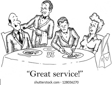 """""""Great service."""""""