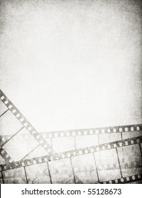 Great vintage filmstrips background - with space for your text and image.