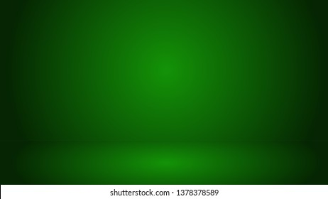Green 3d. background