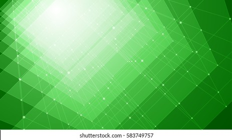 Green Abstract futuristic board, Illustration high computer technology dark blue color background. Hi-tech digital technology concept