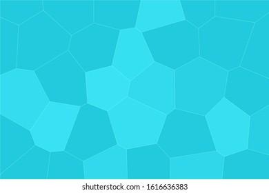 Green abstract mosaic seamless pattern.  Irregular Mosaic backdrop