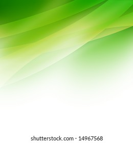 green background with high-tech feel