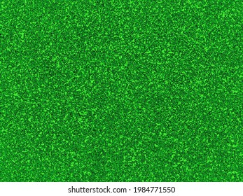 Green background looks like artificial grass